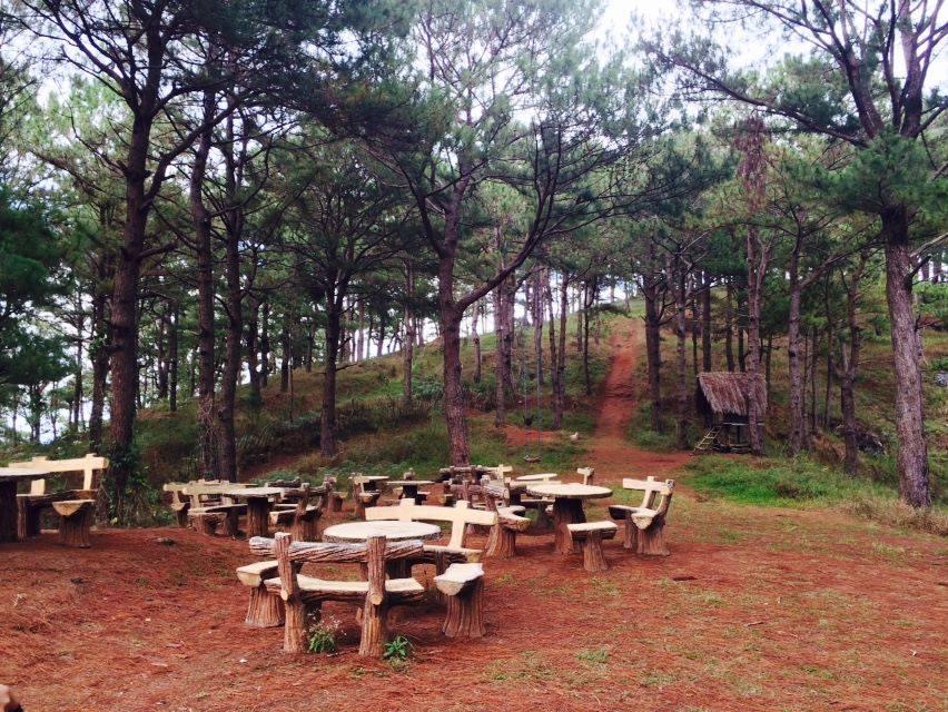 Mt. Kalugong Picnic Tables
