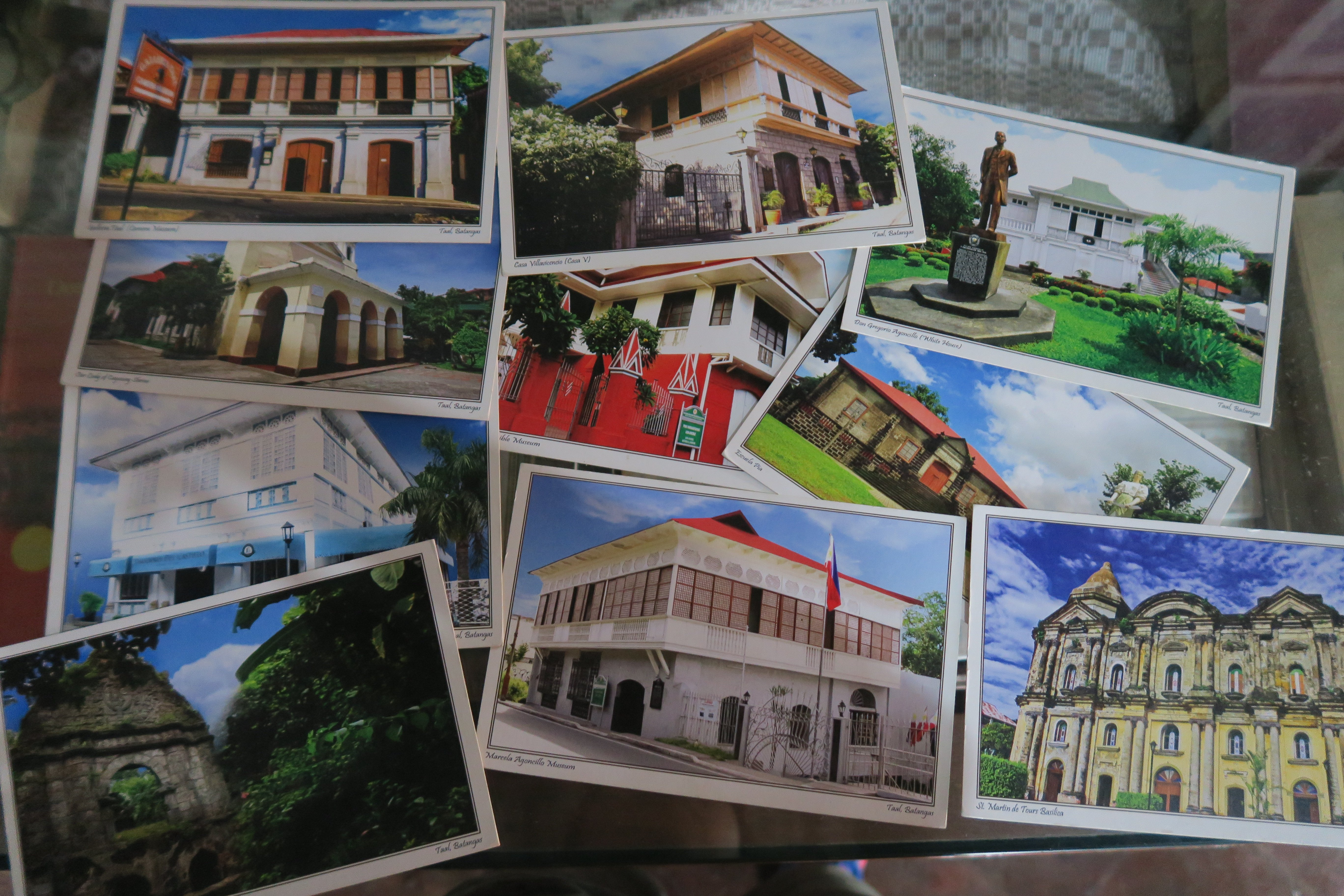 Tall Heritage Town Post Cards