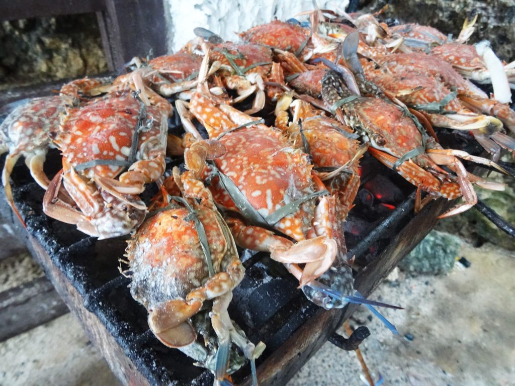 Crabs at Hundred Islands