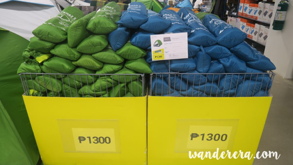 Camping Tents at 1300 pesos
