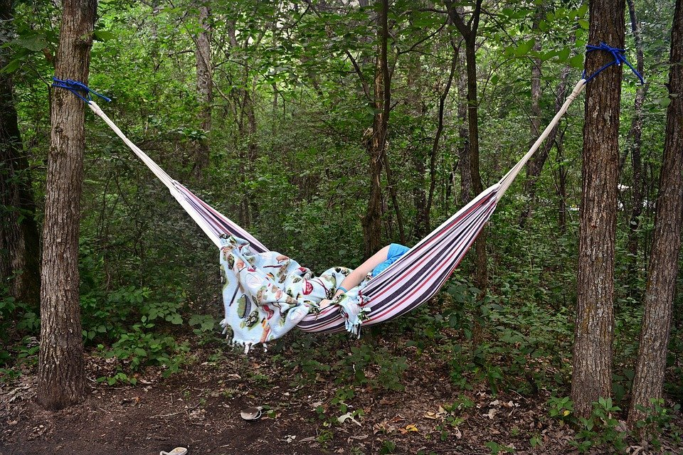 hammocks to tents