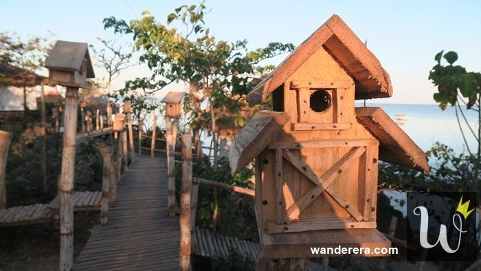 Birdland Beach Club Birdhouses