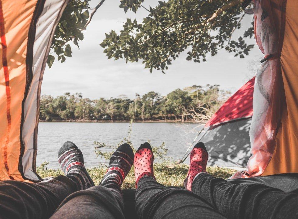 Campsites in Laguna