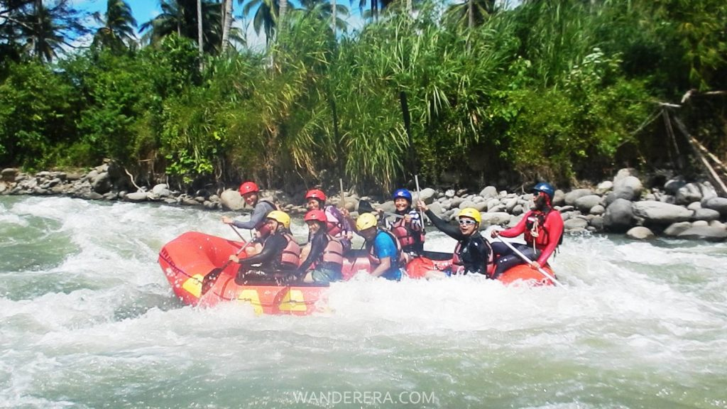 davao white water rafting