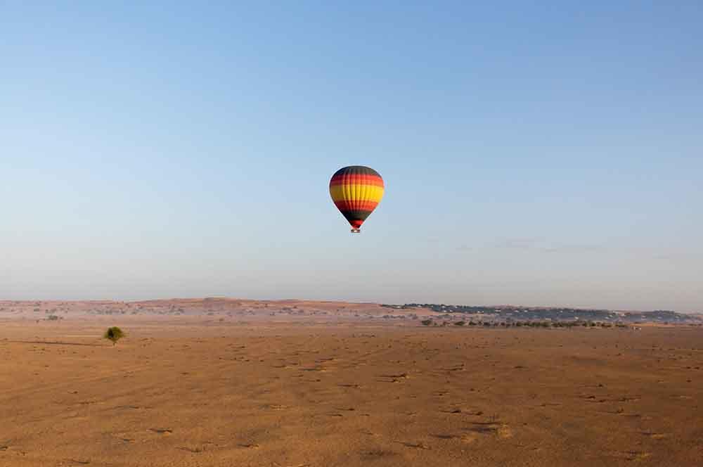 hot air balloon dubai