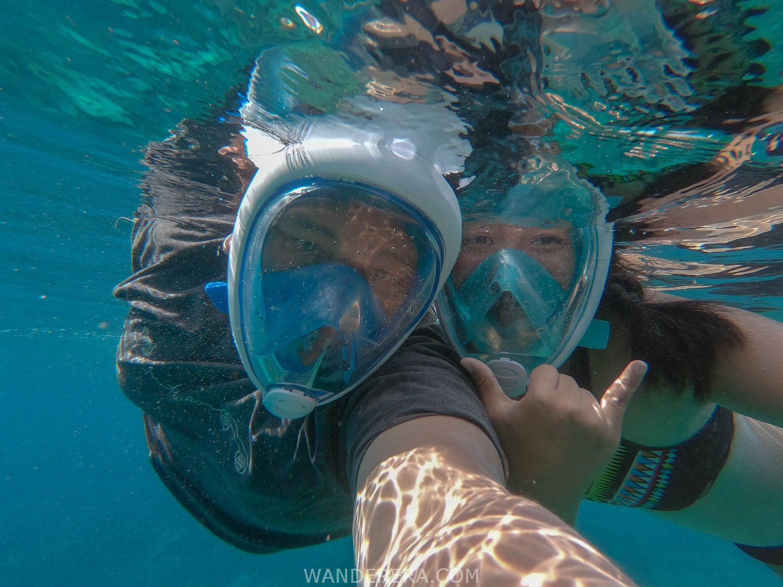 wanderera snorkeling