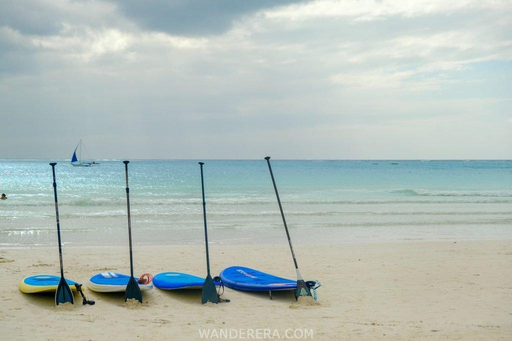 Boracay paddle board