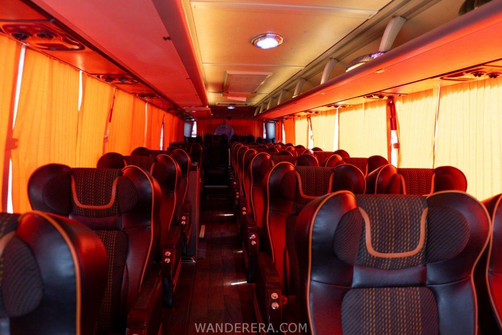 partas luxury bus