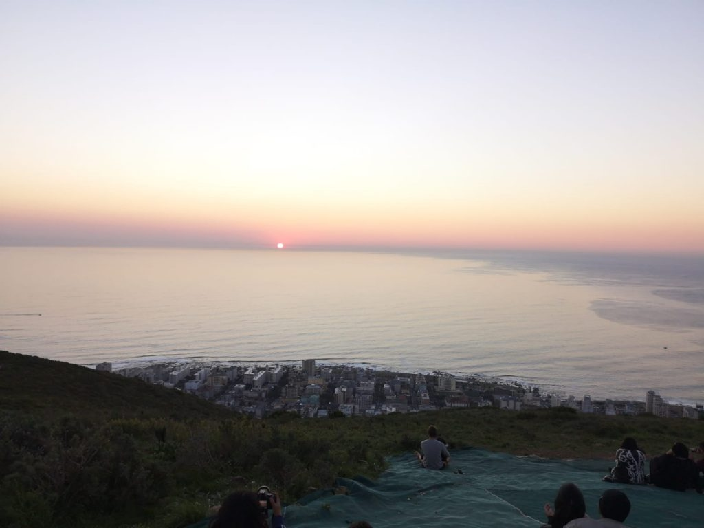 sunset picnic Cape Town