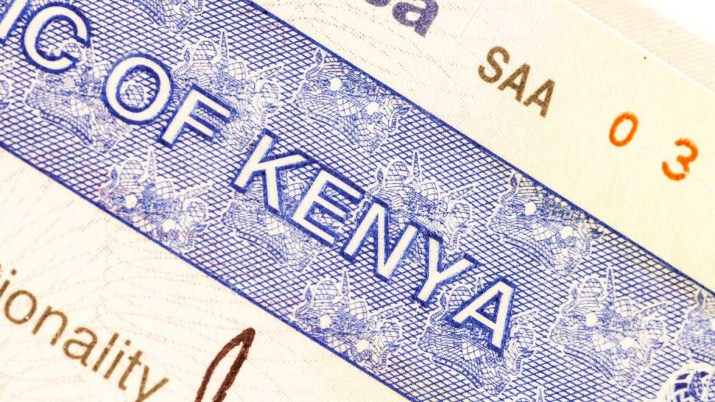 How to apply for a Kenya Tourist eVisa